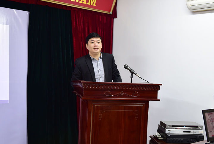 TS. Hà Minh – Tổng Giám đốc phát biểu chỉ đạo hội nghị