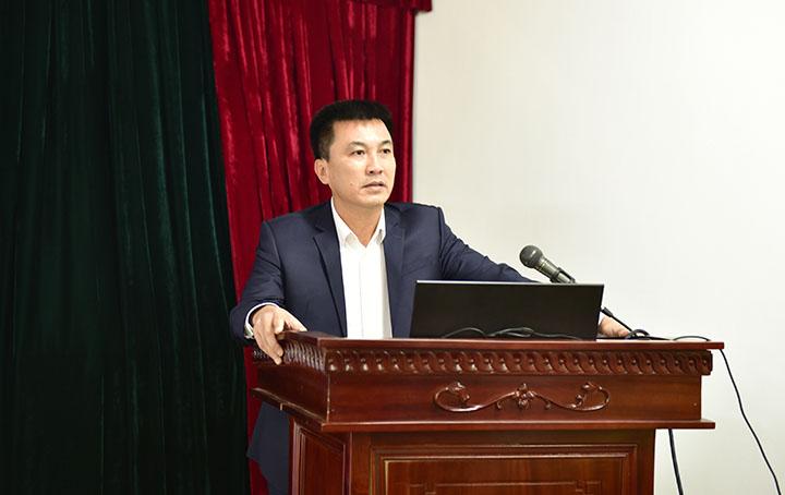 PTGĐ Nguyễn Hữu Trường chủ trì hội nghị