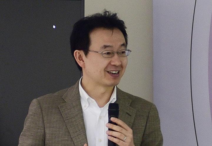 GS. TS. Hironori Kato – Giám đốc Chương trình Kỹ thuật Hạ tầng (VJU) phát biểu khai mạc Hội thảo