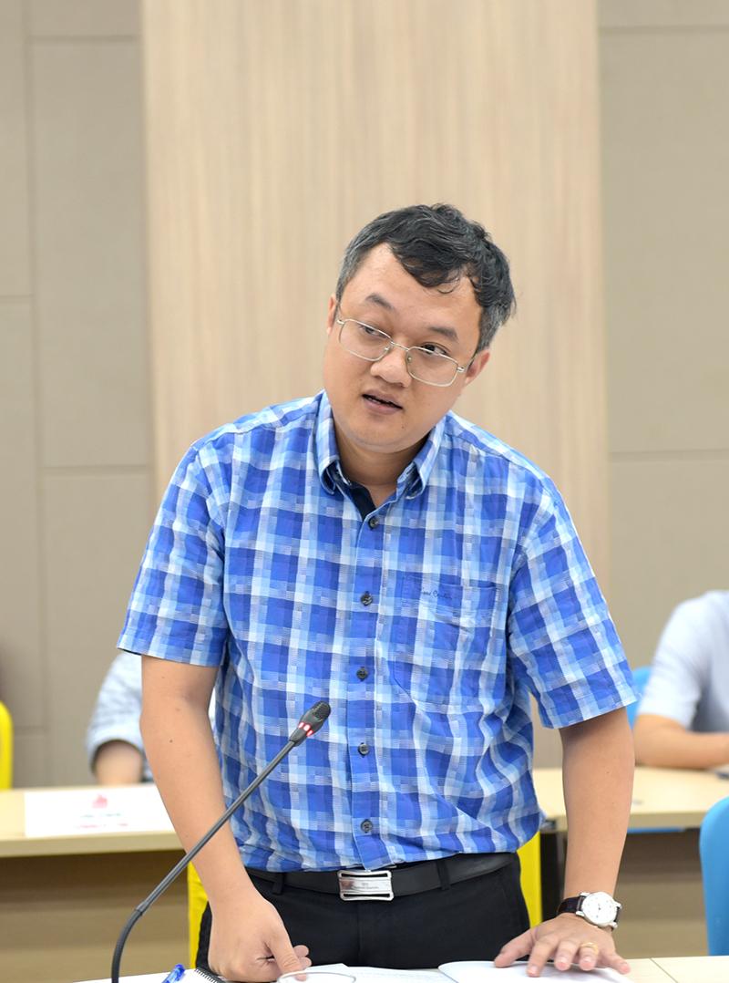 TS. Nguyễn Đắc Phương – Trưởng phòng Kinh doanh báo cáo kết quả SXKD 6 tháng đầu năm và kế hoạch 6 tháng cuối năm 2020