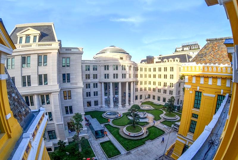 Trụ sở Tòa án nhân dân Tối cao tại số 43 đường Hai Bà Trưng, quận Hoàn Kiếm, TP. Hà Nội