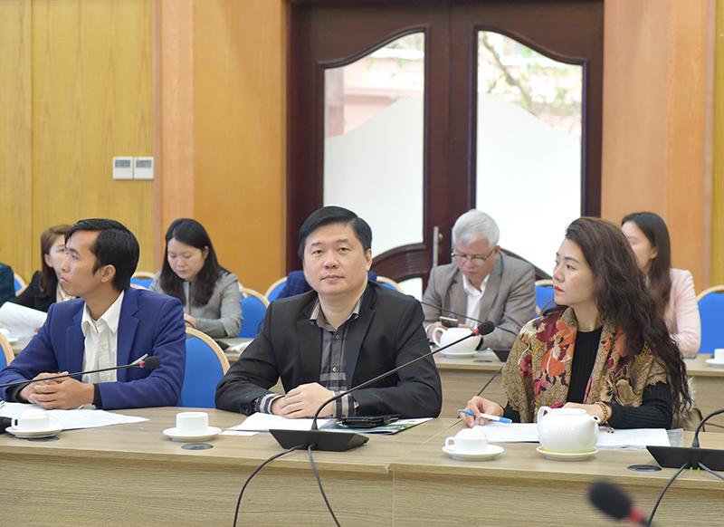 TS. Hà Minh – Tổng Giám đốc CONINCO (giữa) tại Hội thảo