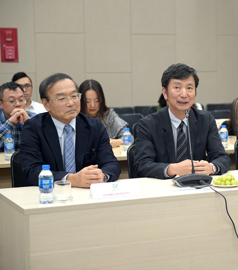 Đại diện Trường Đại học Saitama và Nihon Sekkei Nhật Bản chia sẻ về quá trình hợp tác với CONINCO