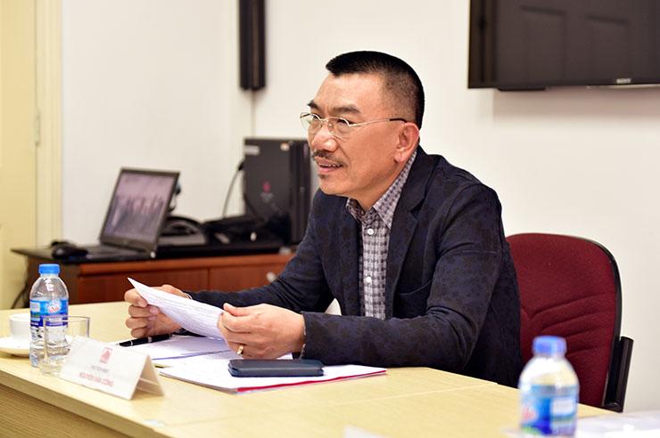 Ông Nguyễn Văn Công - Chủ tịch HĐQT phát biểu khai mạc đại hội