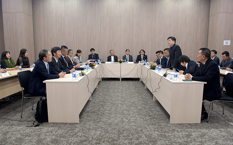 TS.Hà Minh - Tổng Giám đốc CONINCO phát biểu tại buổi lễ