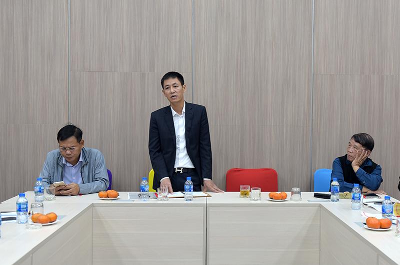 Ông Trần Ngọc Đồng – Tổng Giám đốc chủ trì hội nghị