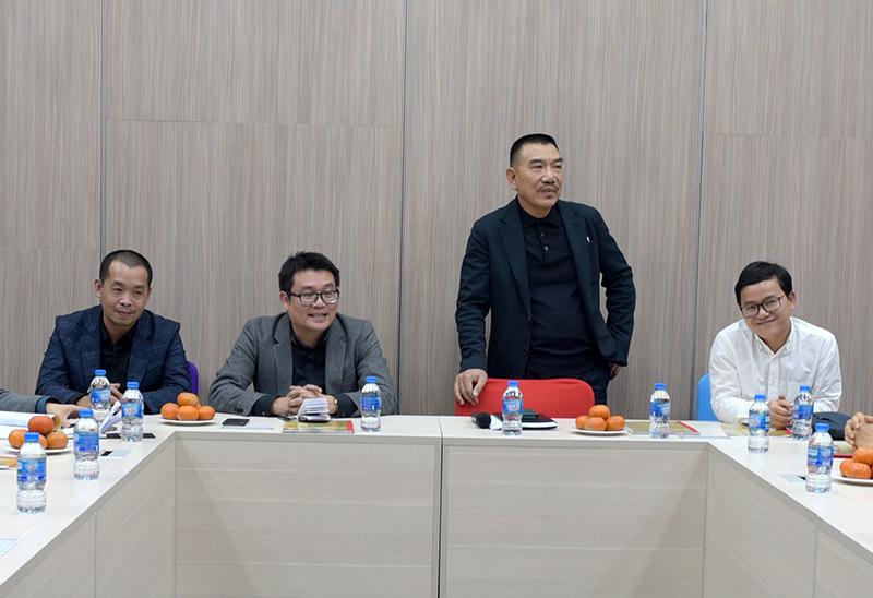 Chủ tịch HĐQT Nguyễn Văn Công phát biểu chỉ đạo hội nghị