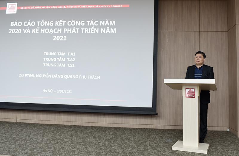 Tổng Giám đốc TS. Hà Minh phát biểu chỉ đạo hội nghị