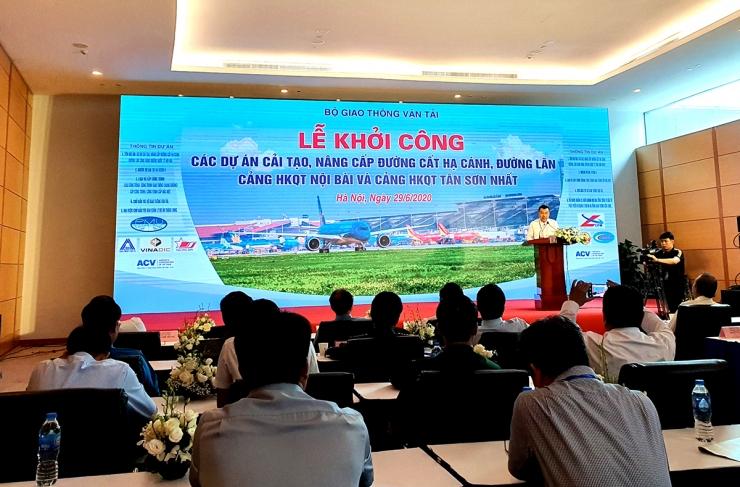 Ông Nguyễn Văn Công - Chủ tịch HĐQT CONINCO phát biểu tại Lễ khởi công