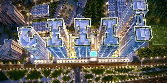 Nhà ở cao tầng 5B3 Đông Hội