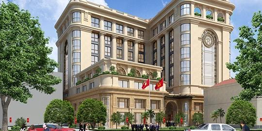 Trụ sở cơ quan Thành ủy Hà Nội