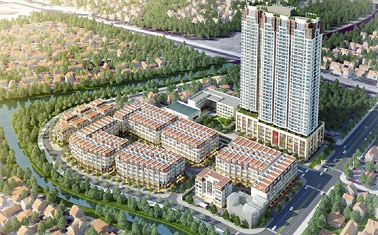 Tổ hợp thương mại, văn phòng, nhà ở và Trường THCS Five Star Hà Đông